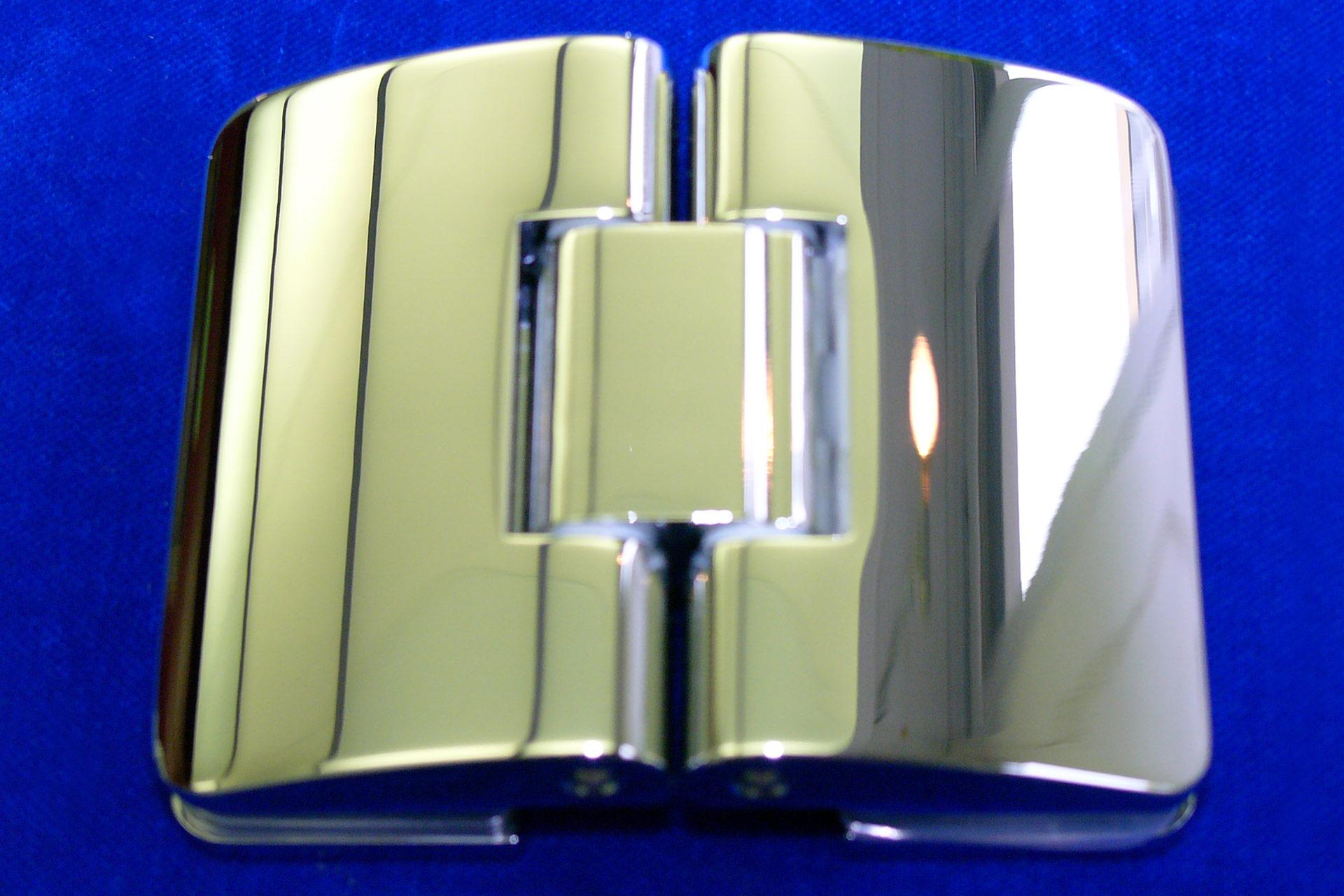 SD 865 charnière de porte en verre, verre-verre, seulement pour tirer