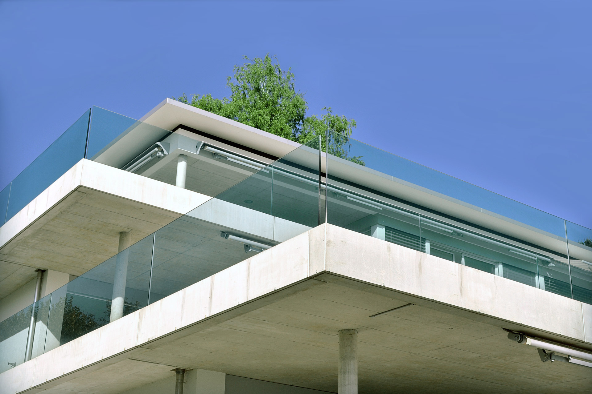 Fassaden, Balkone, Galerien