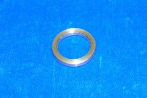 poignée anneau double porte coulissante