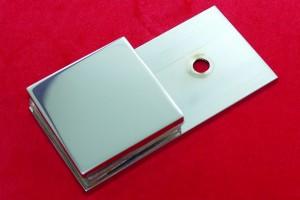AL Kleiner Glasplattenträger für Duschkabinen 91 x 45 x 18mm