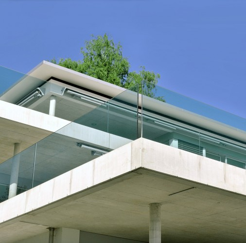 Façades, balcons, galeries